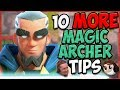 10 MORE Magic Archer Tips (Clash With Ash collab)🏹