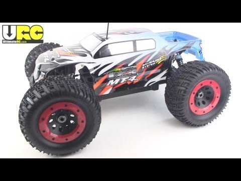 Thunder Tiger MT4-G3 Review - brushless RTR monster truck