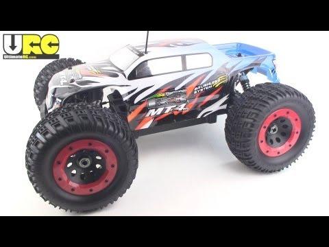 Thunder Tiger Mt4 G3 Review Brushless Rtr Monster Truck Youtube