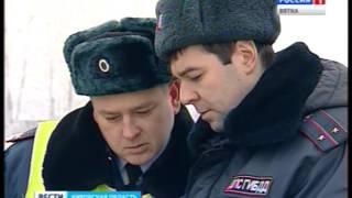 На дорогах Кирова заработал «Скрытый контроль»(ГТРК Вятка)