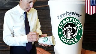 Starbucks Race Together campaign: CEO Howard Schultz to end racism with coffee