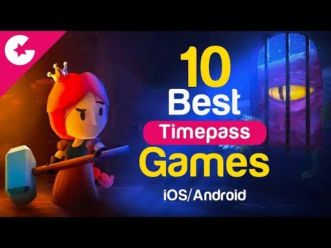 Top 10 Best Free Games For Time Pass - Android/iOS (August 2017)