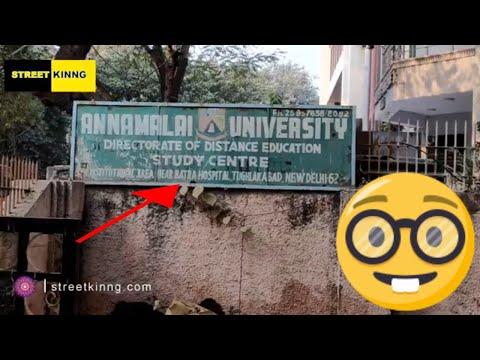Annamalai University   Tughlakabad   New Delhi -110062
