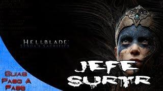 Video de Hellblade Senua's Sacrifice   Combate contra el jefe Surtr   Trofeo: Extinguished