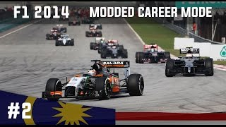 F1 2014 Modded Career Mode - Part 2 Malaysian Grand Prix