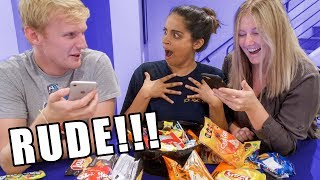 FRIENDS READ MY HATE COMMENTS DURING CANDY MUKBANG
