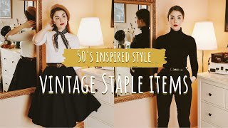 staple-items-for-a-vintage-inspired-style-clothing-accessories-amp-shoes