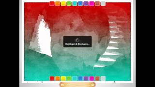Turn Any Photo Into A Watercolor Drawing -- Popsicolor iPad App Review