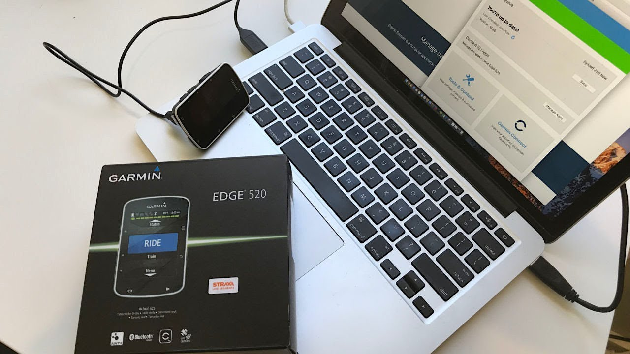 Garmin Edge 520 - Checking for Firmware Updates