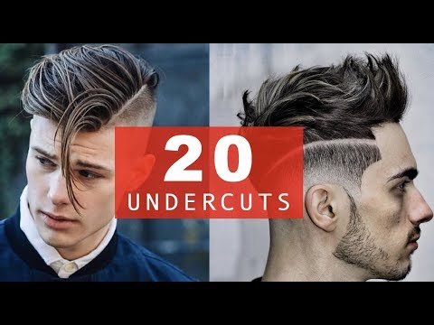 undercut styles long hair 20 different undercut hairstyles best 2017 2018 trends 4351 | hqdefault