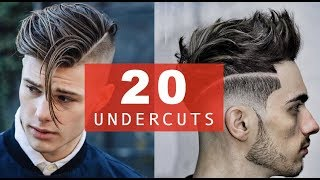 20 Different Undercut Hairstyles + BEST 2017-2018 Trends for Men
