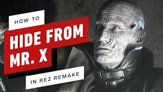 Resident Evil 2 Remake - How to Hide From Mr. X