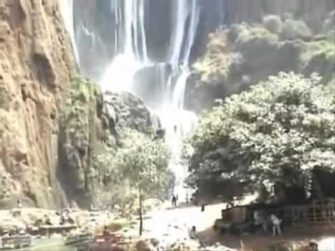 Ouzoude waterfall-high Atlas mountains