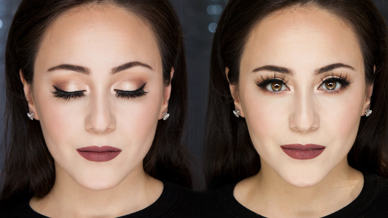 Soft Smokey Eye Tutorial For Everyday Full Face Hatice