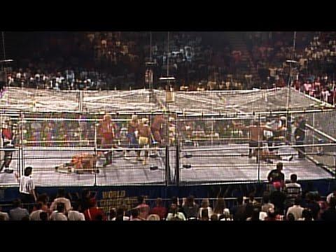 Sting, Brian Pillman & Steiner Brothers vs. The Four Horsemen - WarGames Match: WCW WrestleWar 1991