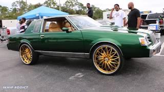 WhipAddict: Kandy Green Buick Regal on Gold Rucci Forged Pazzo 24s, Big Block, Custom Interior