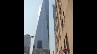 One World Trade Center - Elevator Ride & Observation Deck Intro