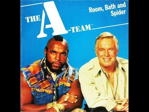 The A-Team Cassette & Book Story 4 (Room, Bath and Spider) |