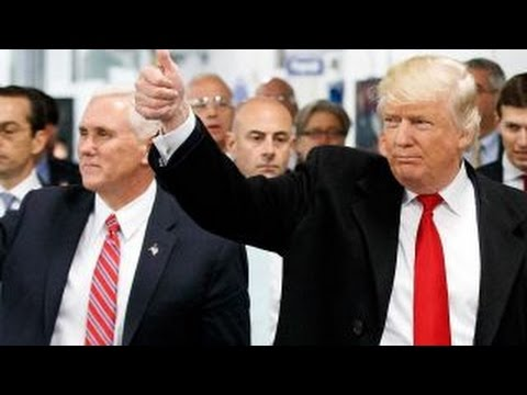 Trump and Pence kick off nationwide 'thank you' tour
