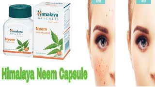 Himalaya Neem capsule | purifying blood and clear acne