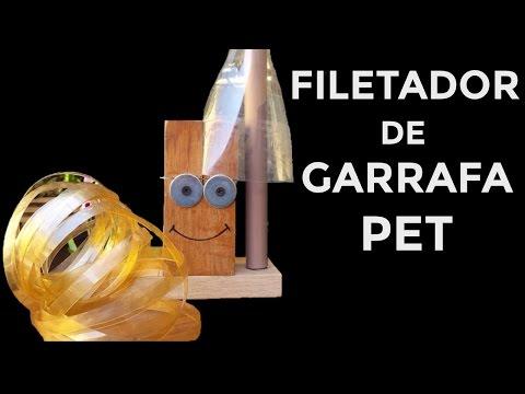 FILETADOR DE GARRAFA PET CASEIRO SAIBA COMO FAZER