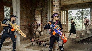 LTT Nerf War : Couple SEAL X Warriors Nerf Guns Fight Dr.Lee Crazy Assassin Dangerous No.1