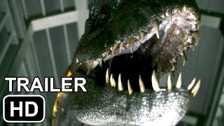 "JURASSIC WORLD 2 Trailer ""MOSASAUR AND INDOMINUS REX"" (2018)"