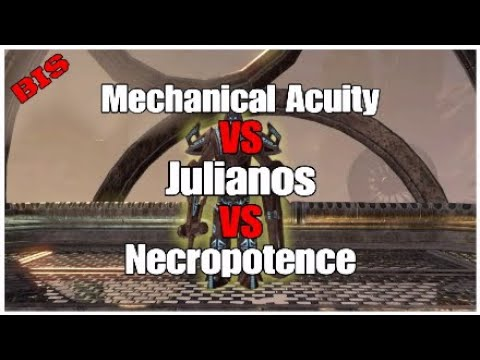 ESO:Mechanical Acuity vs Julianos vs Necropotence (Best In Slot ?) Dps Gear Comparison/Overview