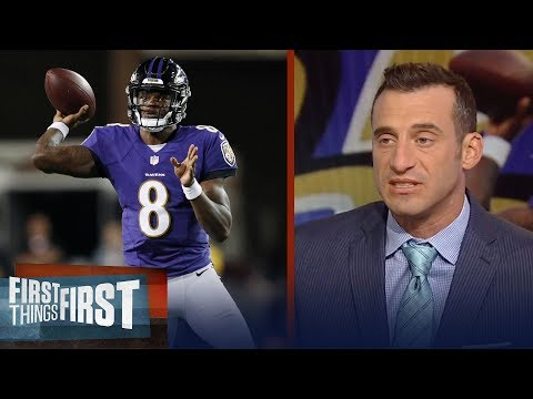 Doug Gottlieb on Lamar Jackson's debut for the Baltimore Ravens   NFL   FIRST THINGS FIRST