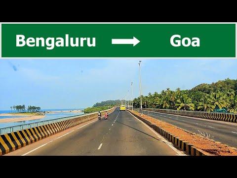 Bangalore to goa