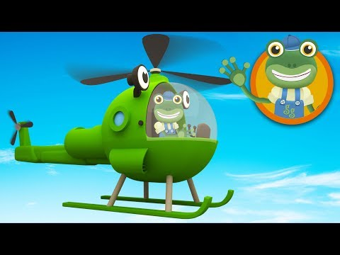 Helen The Helicopter Visits Gecko's Garage | Helicopters For Children