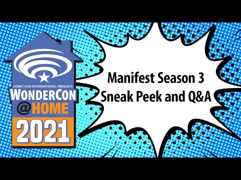Manifest Season 3 Sneak Peek and Q&A | WonderCon@Home 2021