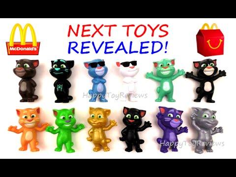 2016 Mcdonald S Next Happy Meal Toys Talking Tom Dc Comics Justice