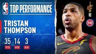 Thompson Drops CAREER-HIGH 35 PTS!