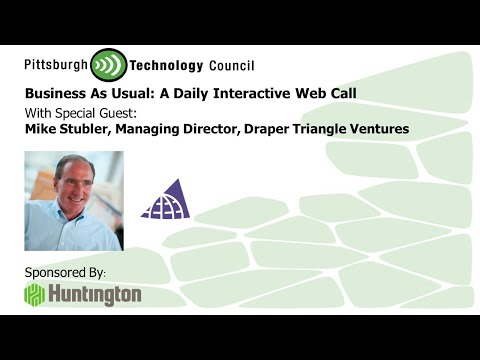 Draper Triangle's Mike Stubler Details the 3 Rivers Venture Fair on Business as Usual