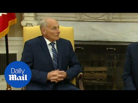 John Kelly tasked with bringing order to the White House - Daily Mail