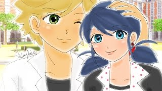 """Adrien's Rival in LOVE"" - Complete - Miraculous Ladybug Comic Dub Compilation 