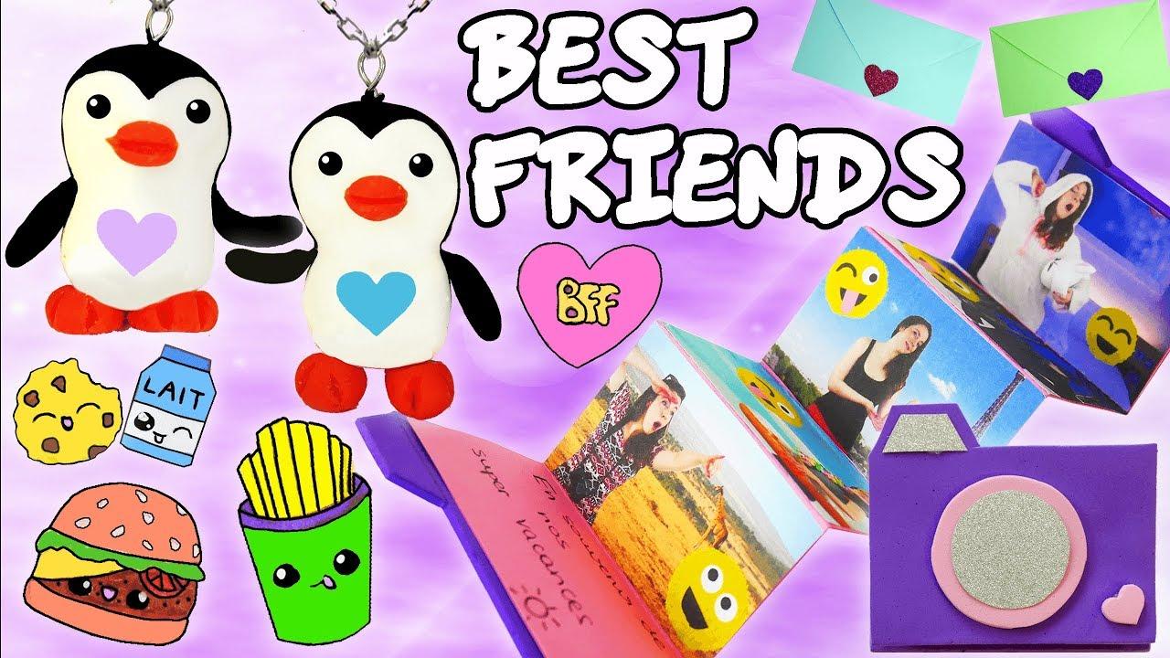 Diy Meilleures Amies 2 Best Friends Idees Cadeaux
