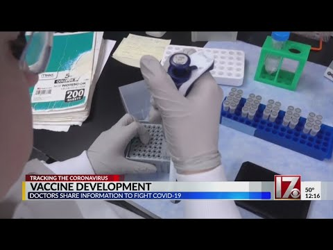COVID-19 vaccines being developed