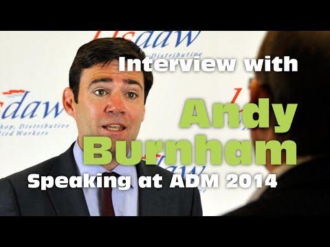 Andy Burnham ADM 2014