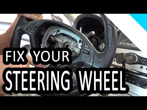 How To Remove Infiniti G37S Steering Wheel and Replace or Vinyl Wrap the Trim Bezel