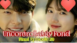 Uncontrollably fond  ep 20  the final clip