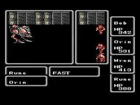 Final Fantasy (NES) Warmech