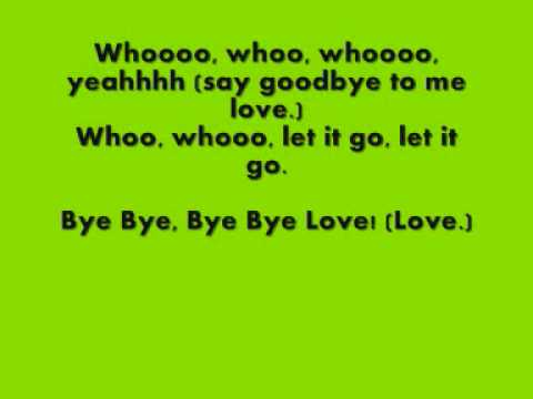 Backstreet Boys - Bye Bye Love Lyrics | MetroLyrics