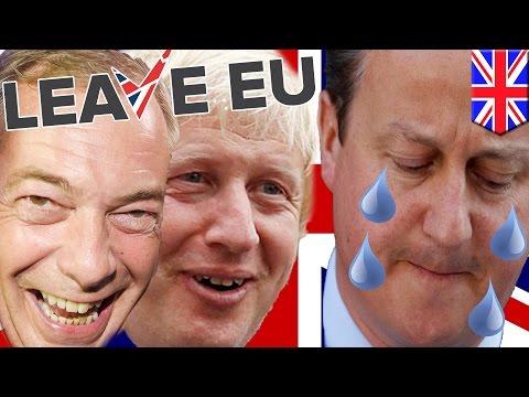 Brexit vote: Britain votes to leave the European Union in historic referendum - TomoNews