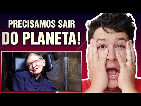 Stephen Hawking diz Estar Convencido que os Seres Humanos Precisam Deixar o Planeta! (#191 M.A.)