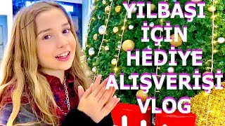 Ailem Ve Arkadaşlarım İçin Yılbaşı Hediye Alışverişi Vlog. Ecrin Su Çoban