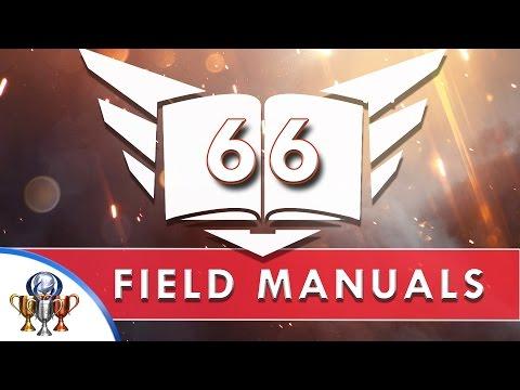 Battlefield 1 - All 66 Field Manual Locations - Collectibles & Codex (Enough For A Library Trophy)