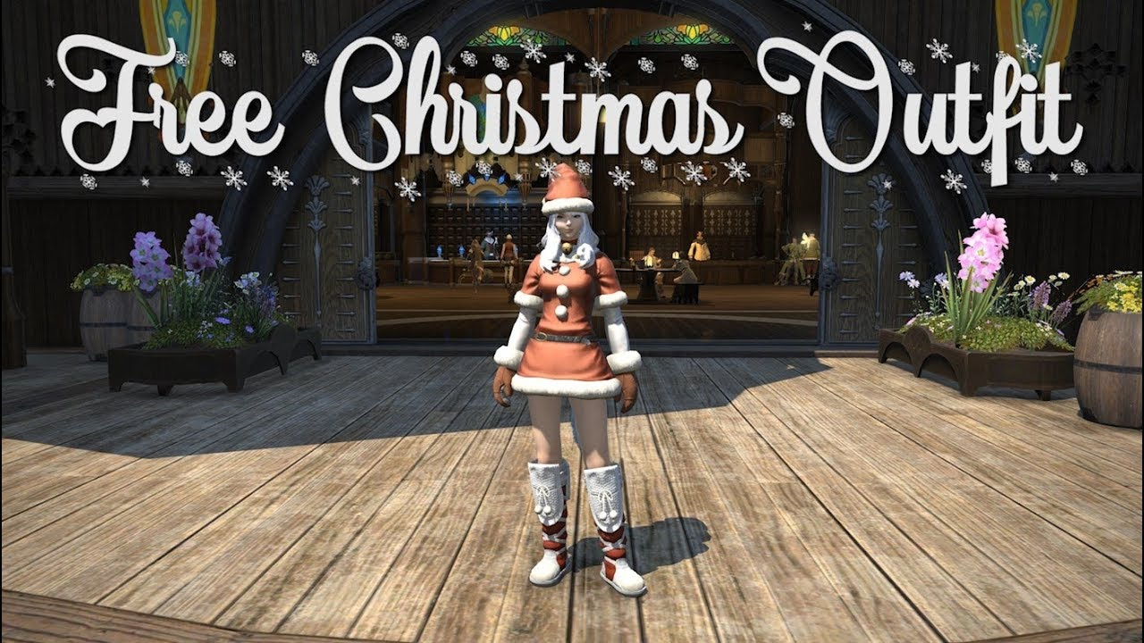 Ffxiv When Is Christmas 2021 Ffxiv Free Christmas Outfit Youtube