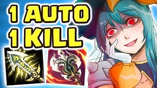 IS THIS THE NEW HYPERCARRY?! 1-AUTO 1-KILL 1v9 | NEVER GIVE UP | THE CLOWN IS BACK CRIT SHACO JUNGLE